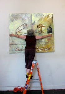 Curating on Treasure Island art project image