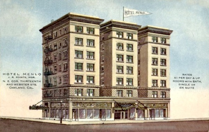 The Menlo Hotel art project image