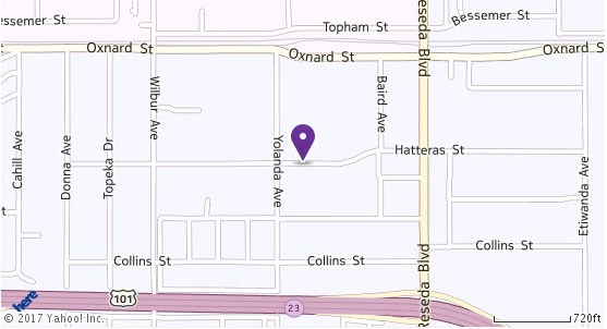 Location map for Wright Hair, Ltd.
