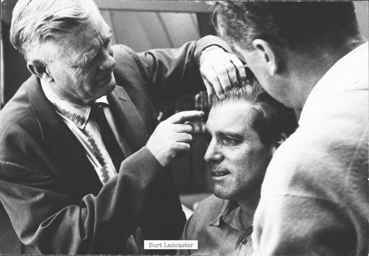 Burt Lancaster from 1962 classic 'Birdman of Alcatraz'