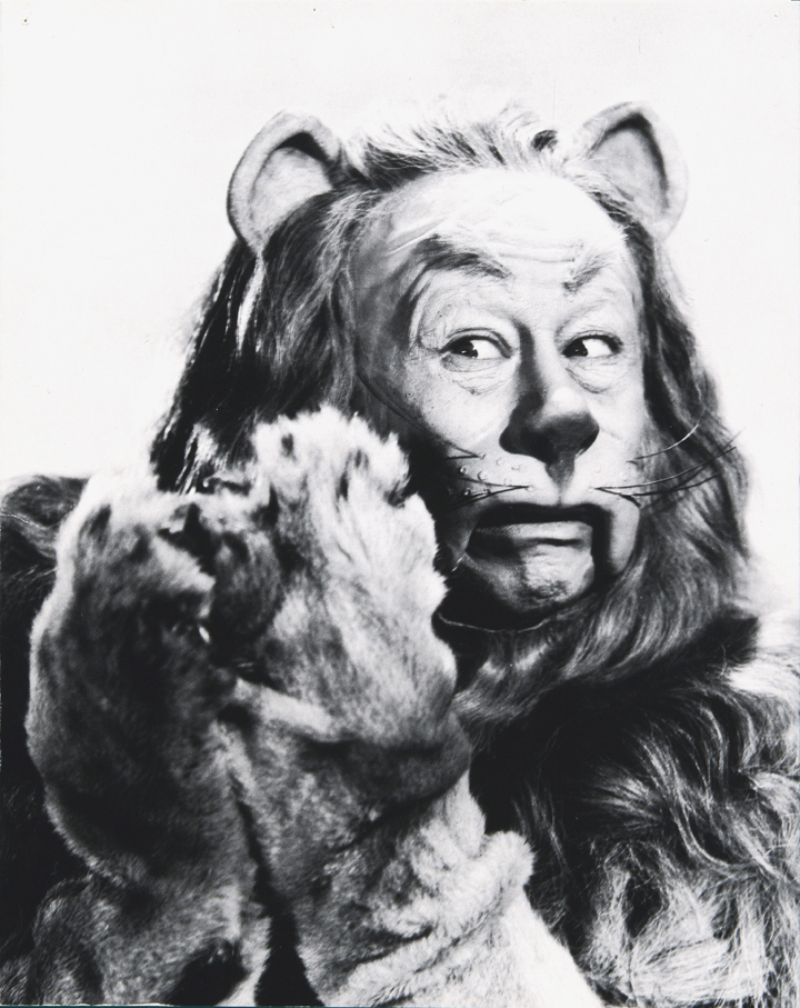 Charlie Wright made the Lion's mane for Bert Lahr in the film classic The Wizard of Oz